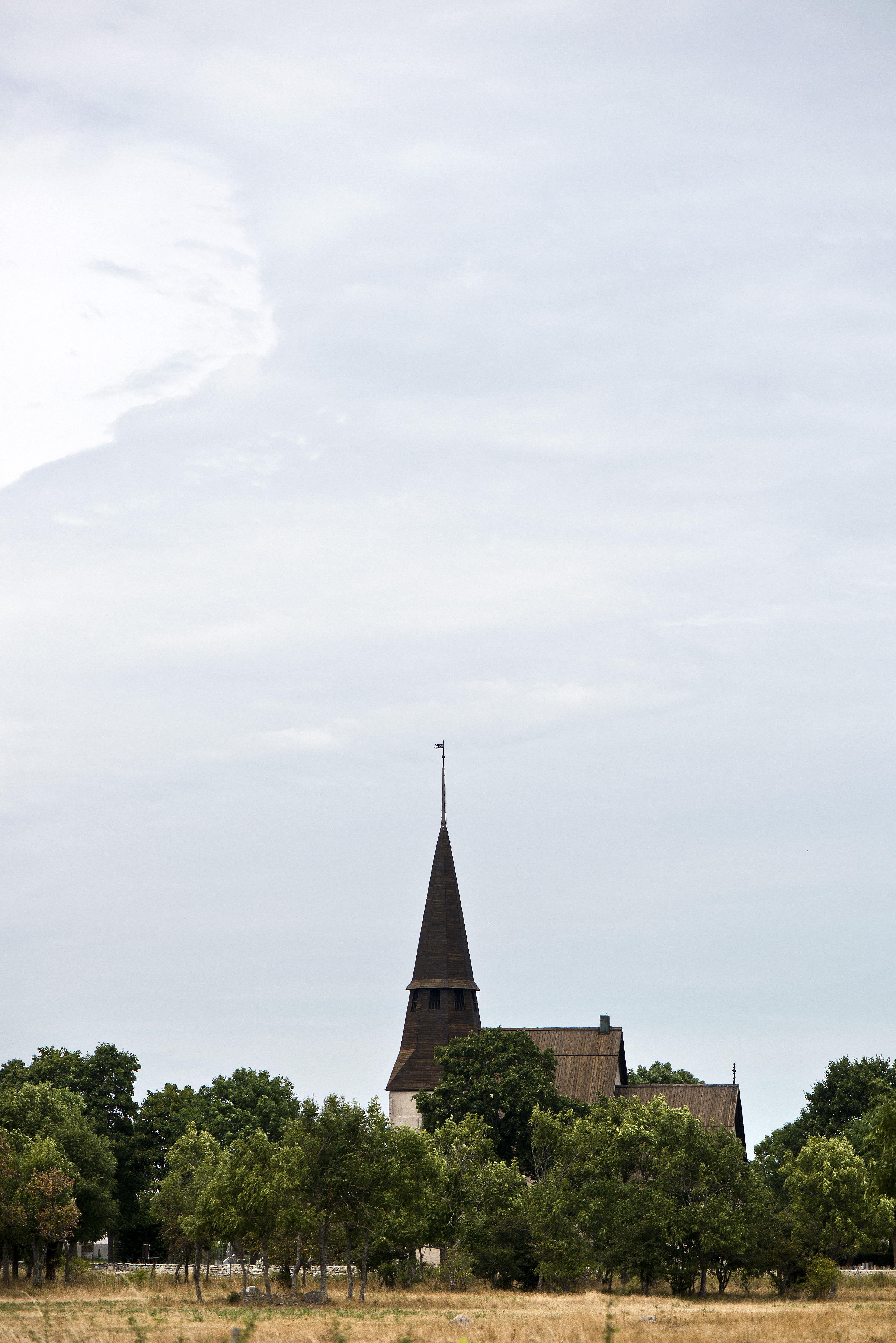 Bild av Ardre kyrka