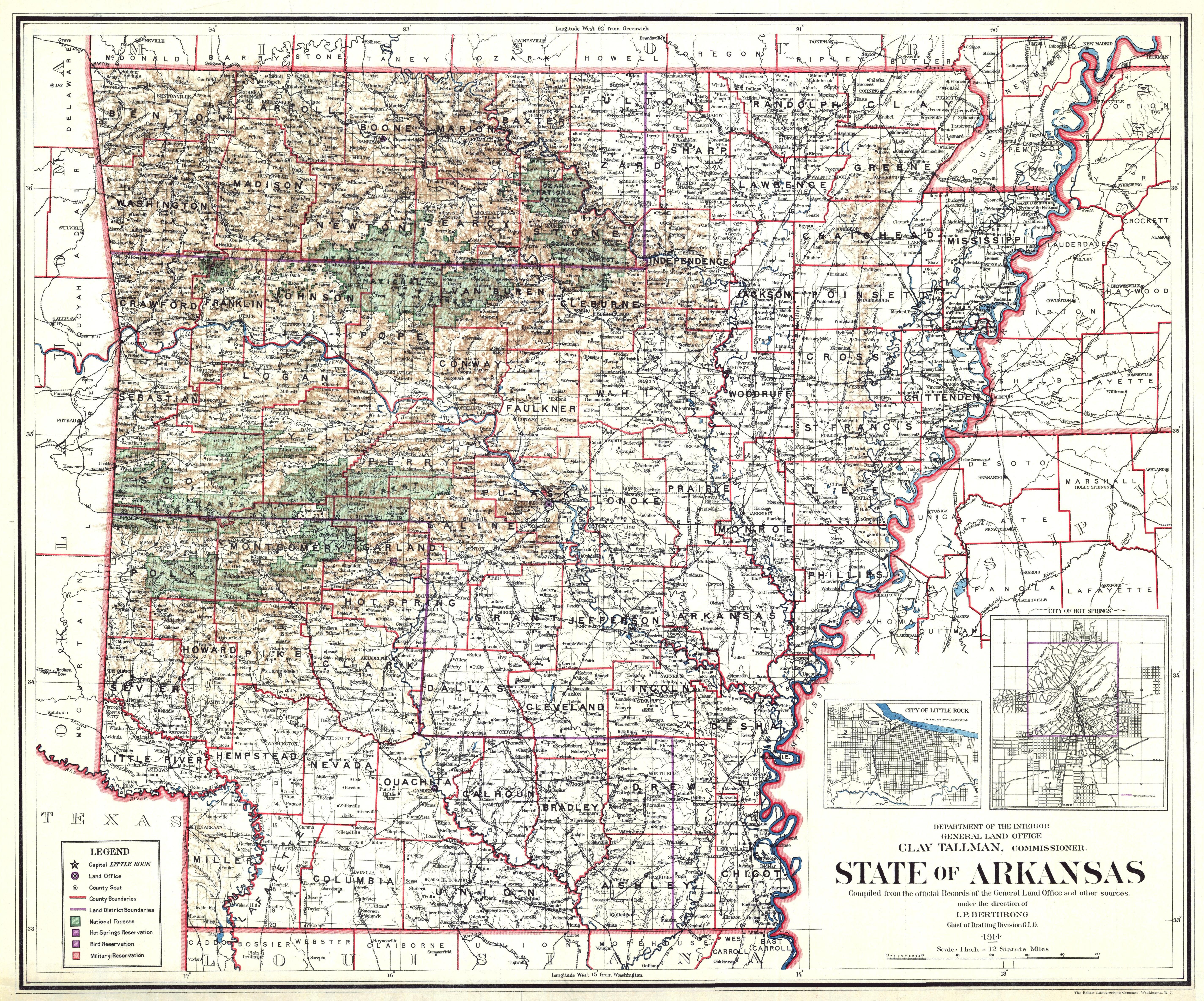 File:Arkansas State Map, 1914.jpg - Wikimedia Commons