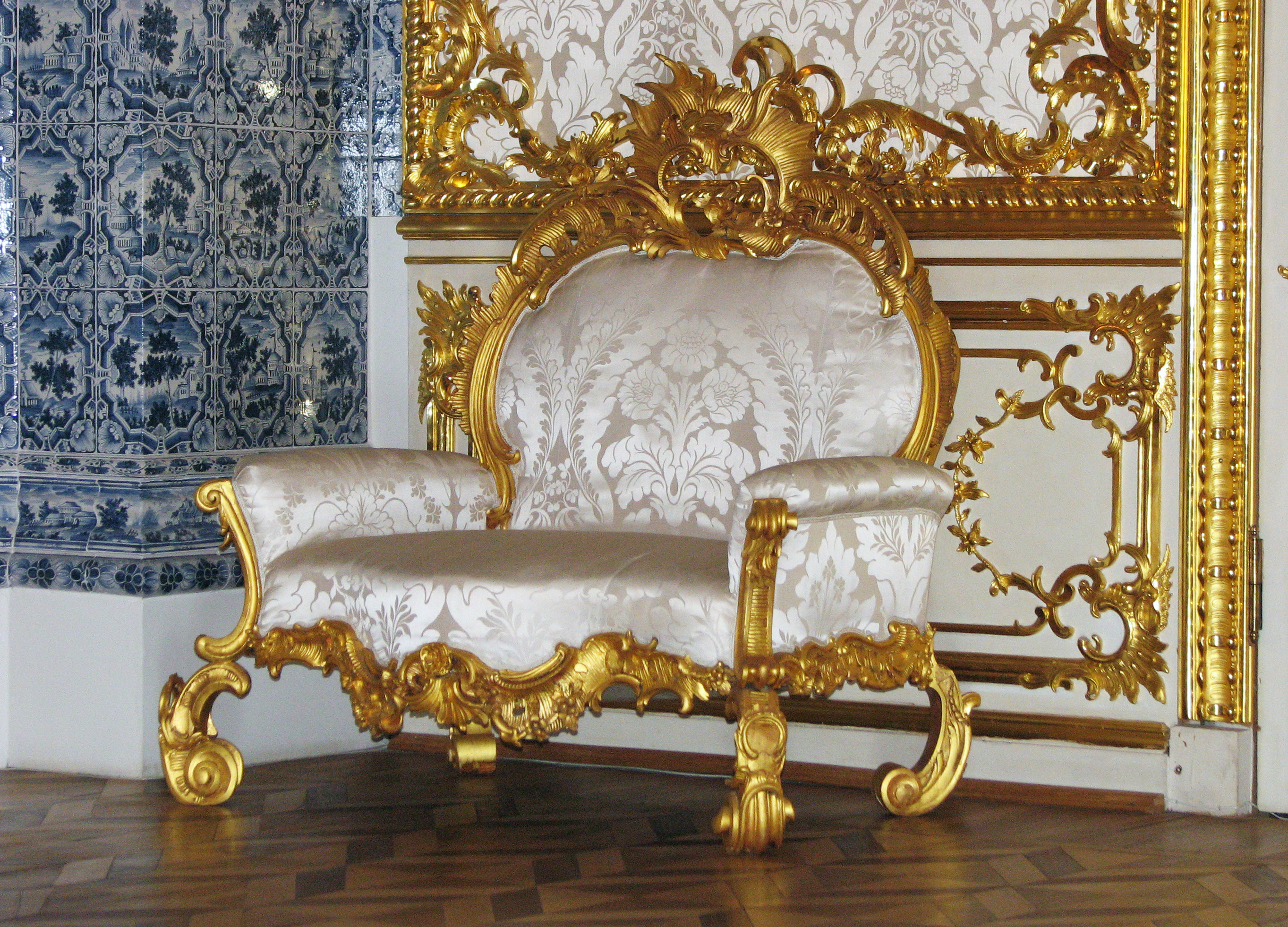 File Armchair In Baroque Style 01 Jpg Wikimedia Commons