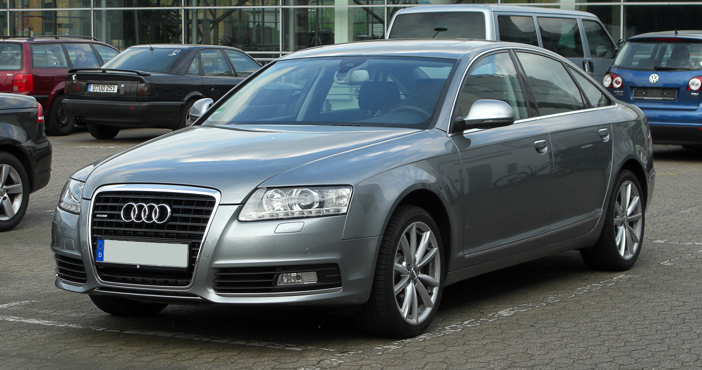 File:Audi A6 (C6, Facelift) – Frontansicht, 16. April 2011 ...