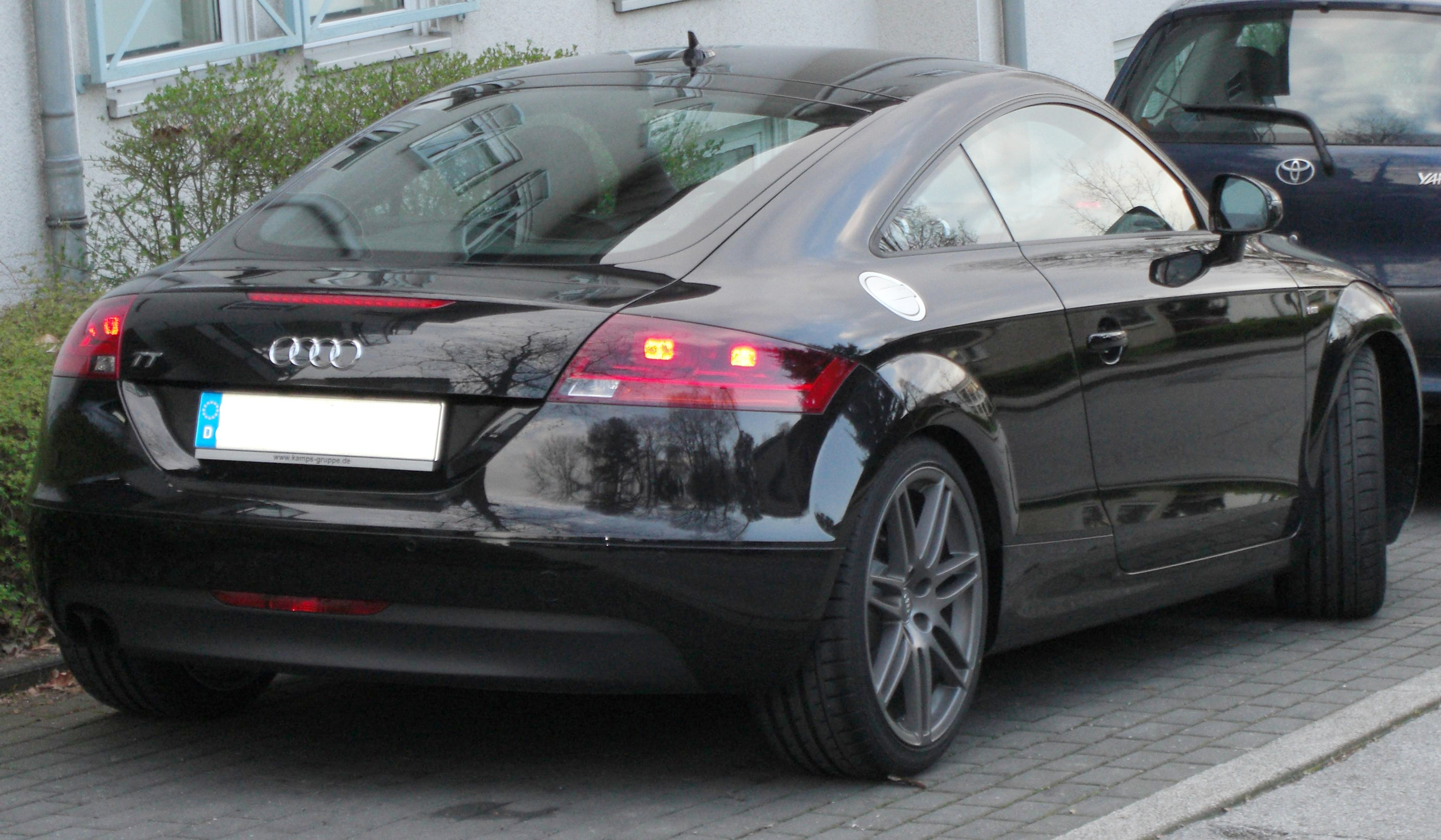 File Audi Tt Ii Generation Rear Jpg