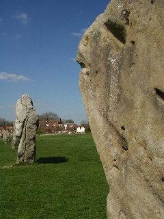 Avebury, Wiltshire village and civil parish in Wiltshire, England