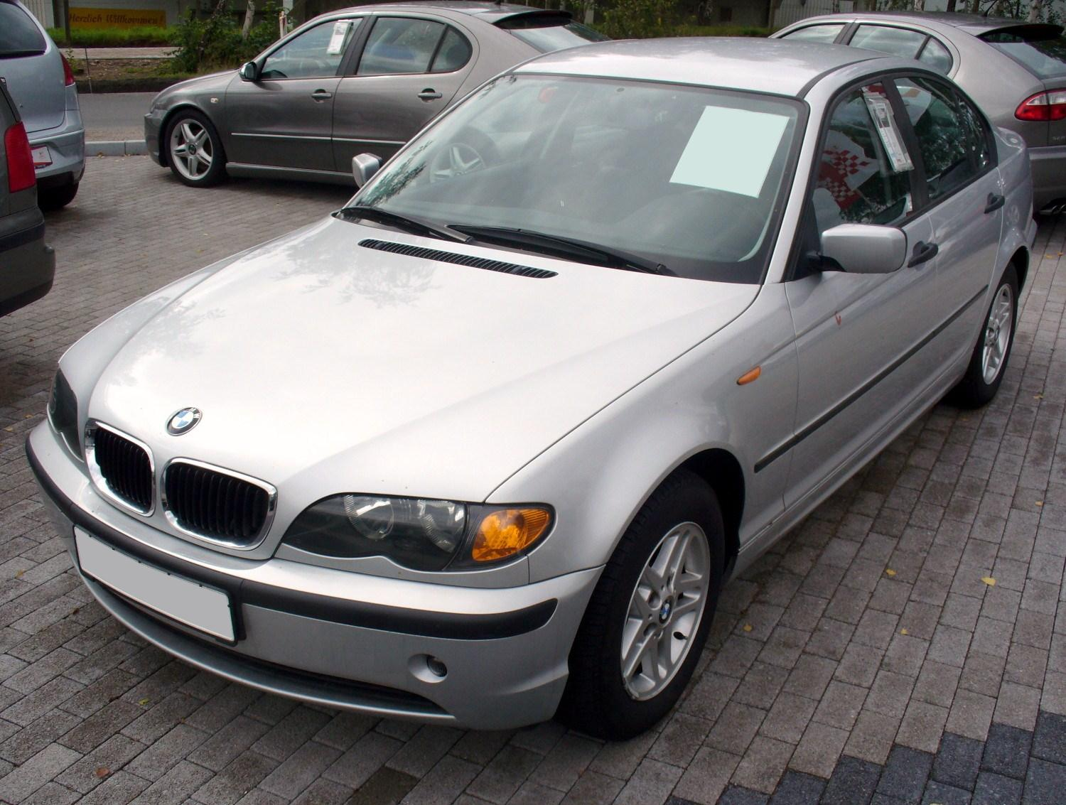 File Bmw E46 316i Facelift Jpg Wikimedia Commons