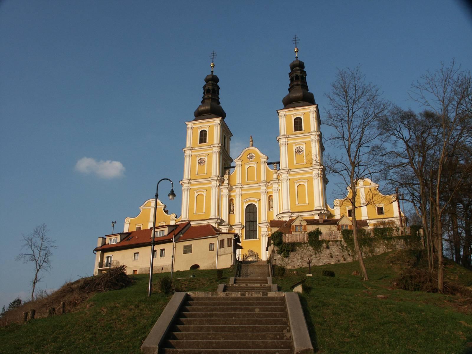 Basilika Mariatrost mit Angelus-Stiege