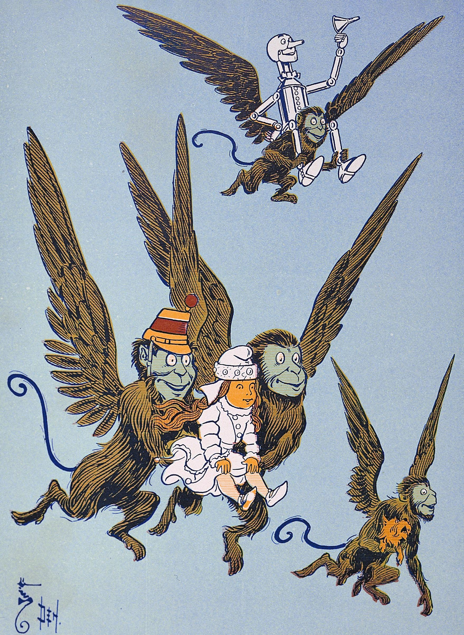 Winged monkeys - Wikiwand