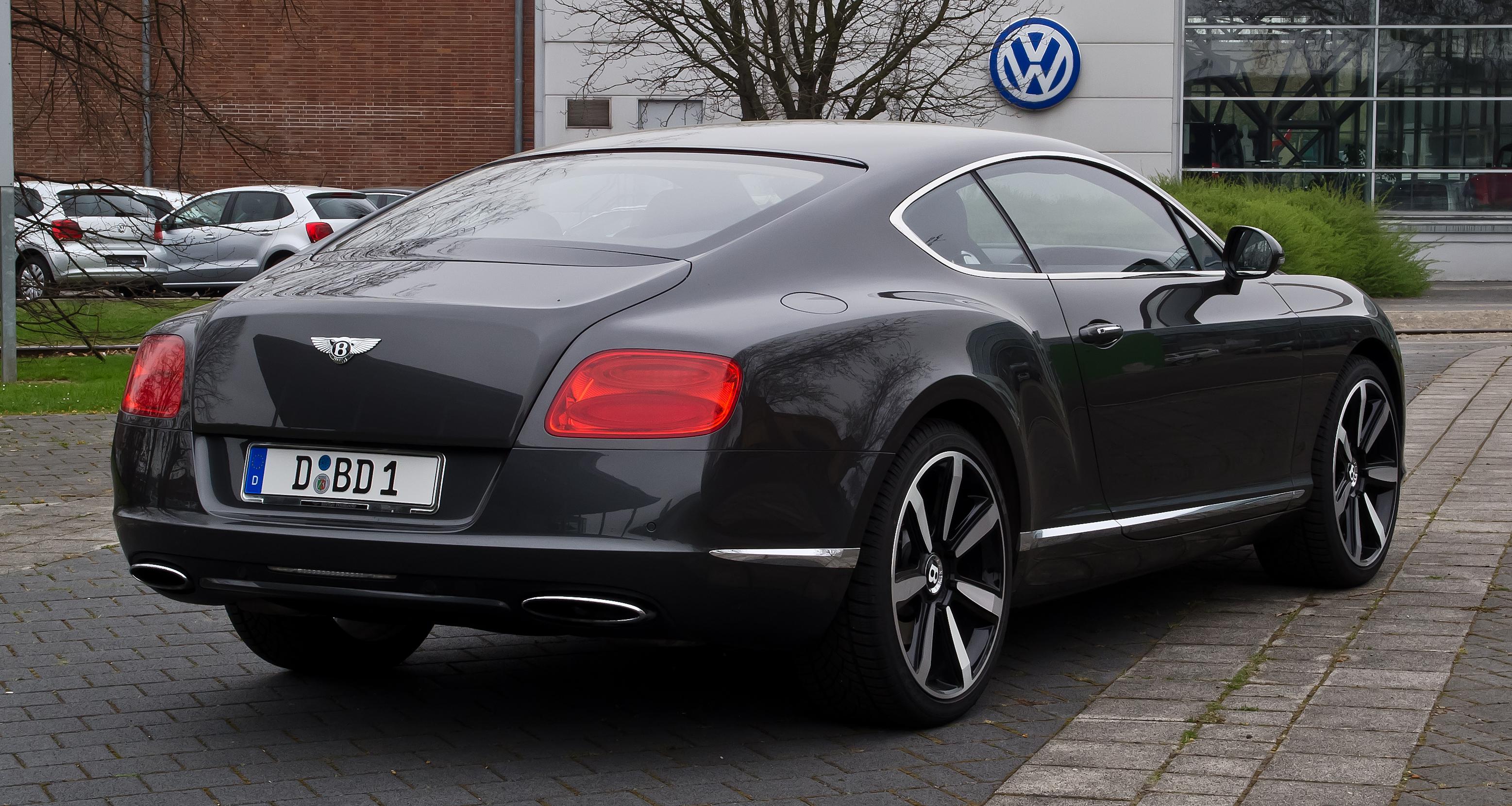 Bentley Continental GT dinocrofo
