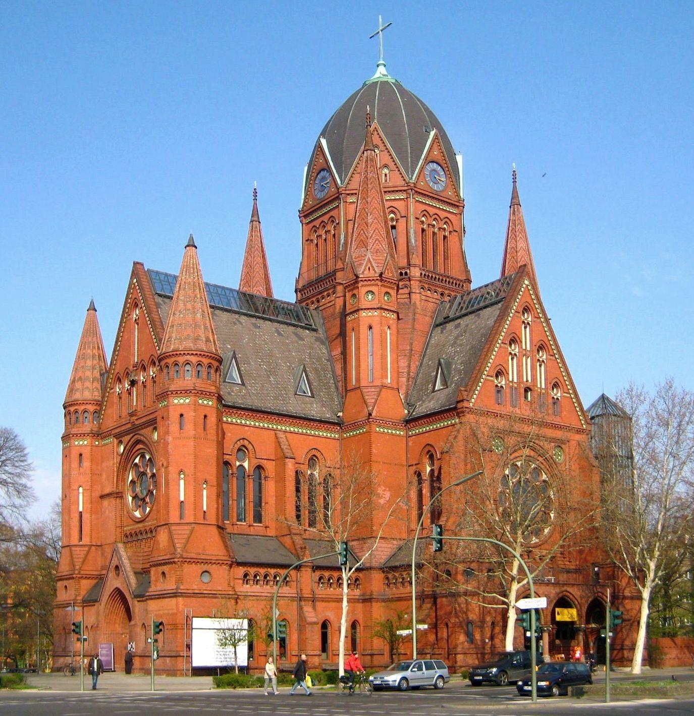 Kirche zum Heiligen Kreuz Berlin, Kreuzberg