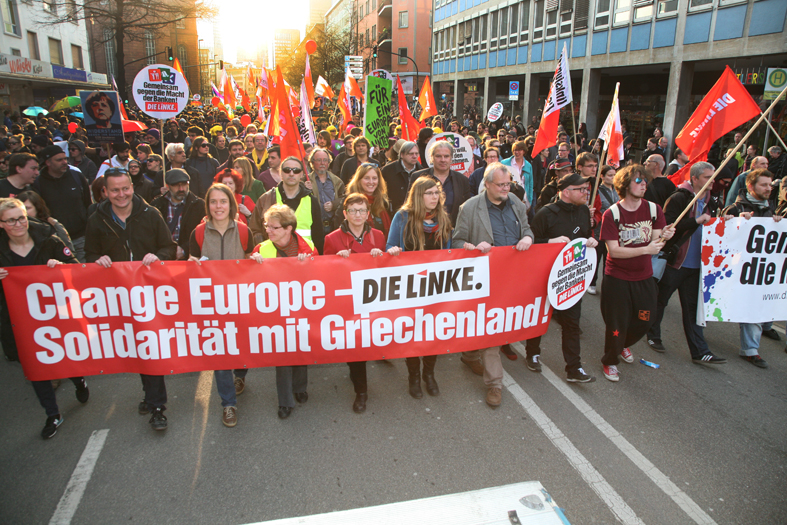 demo frankfurt