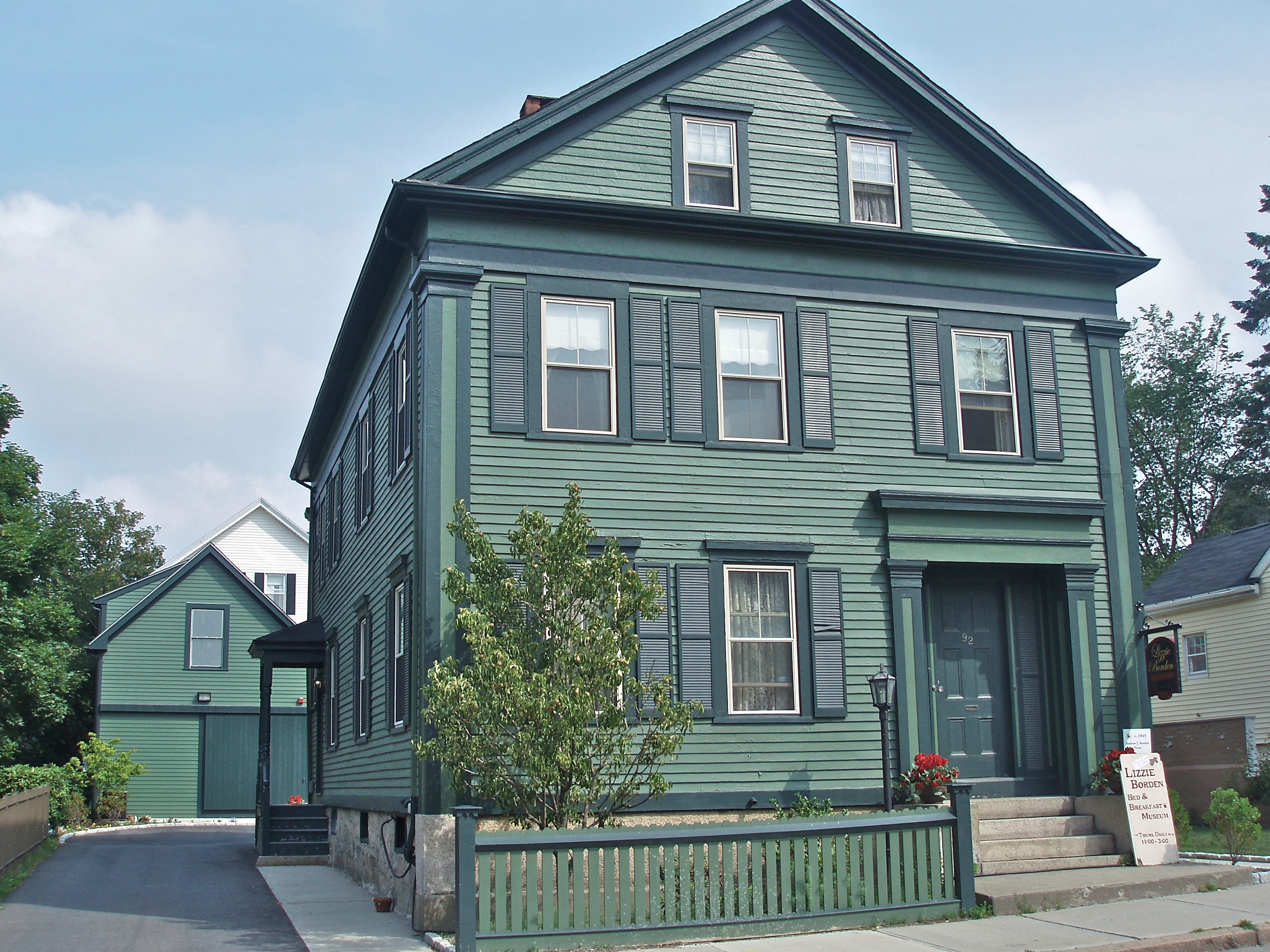 Image result for pictures of the lizzie borden house
