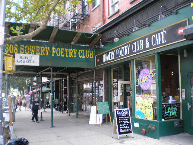 bowery poetry club wikipedia