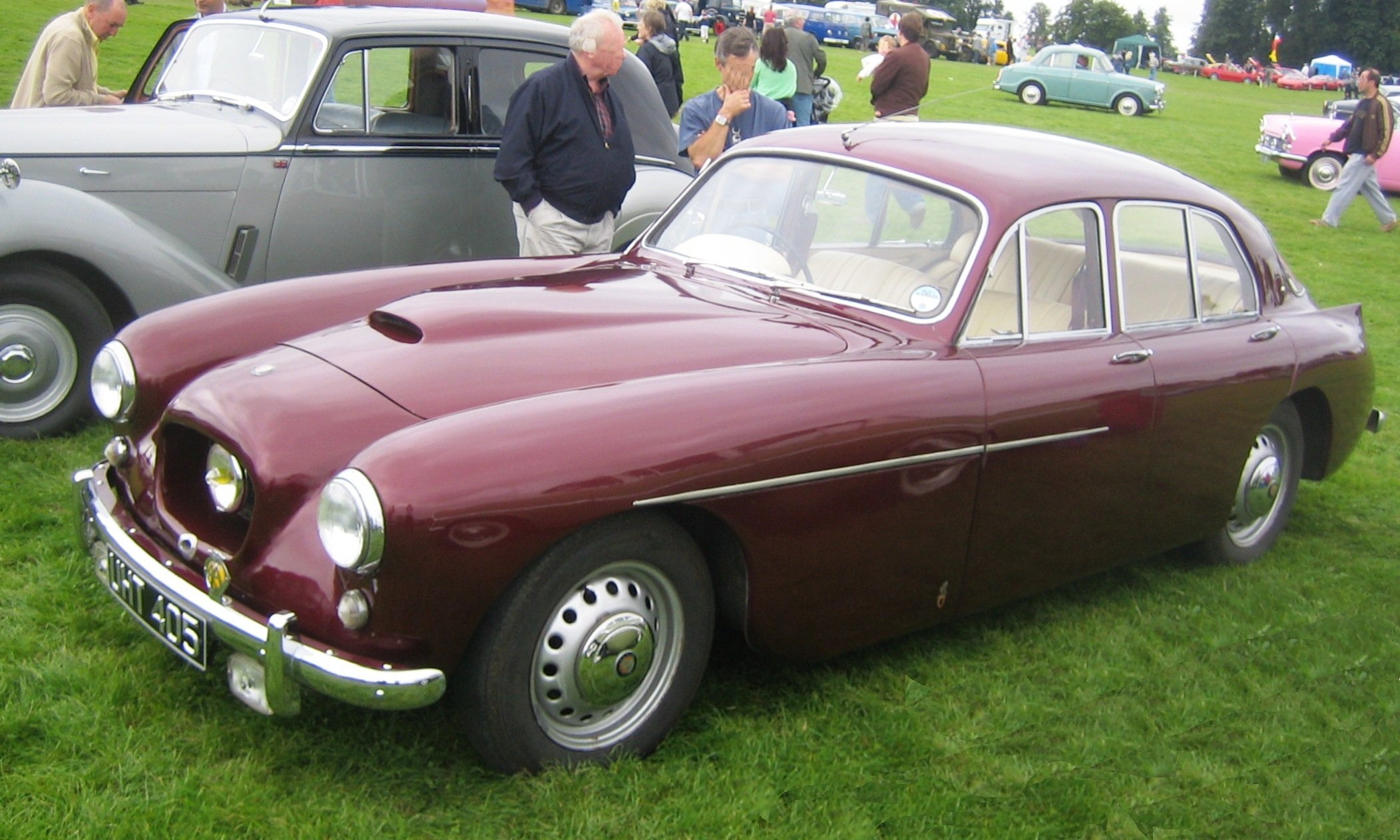 Cars Under 800 >> File:Bristol 405 ca 1955.jpg - Wikimedia Commons