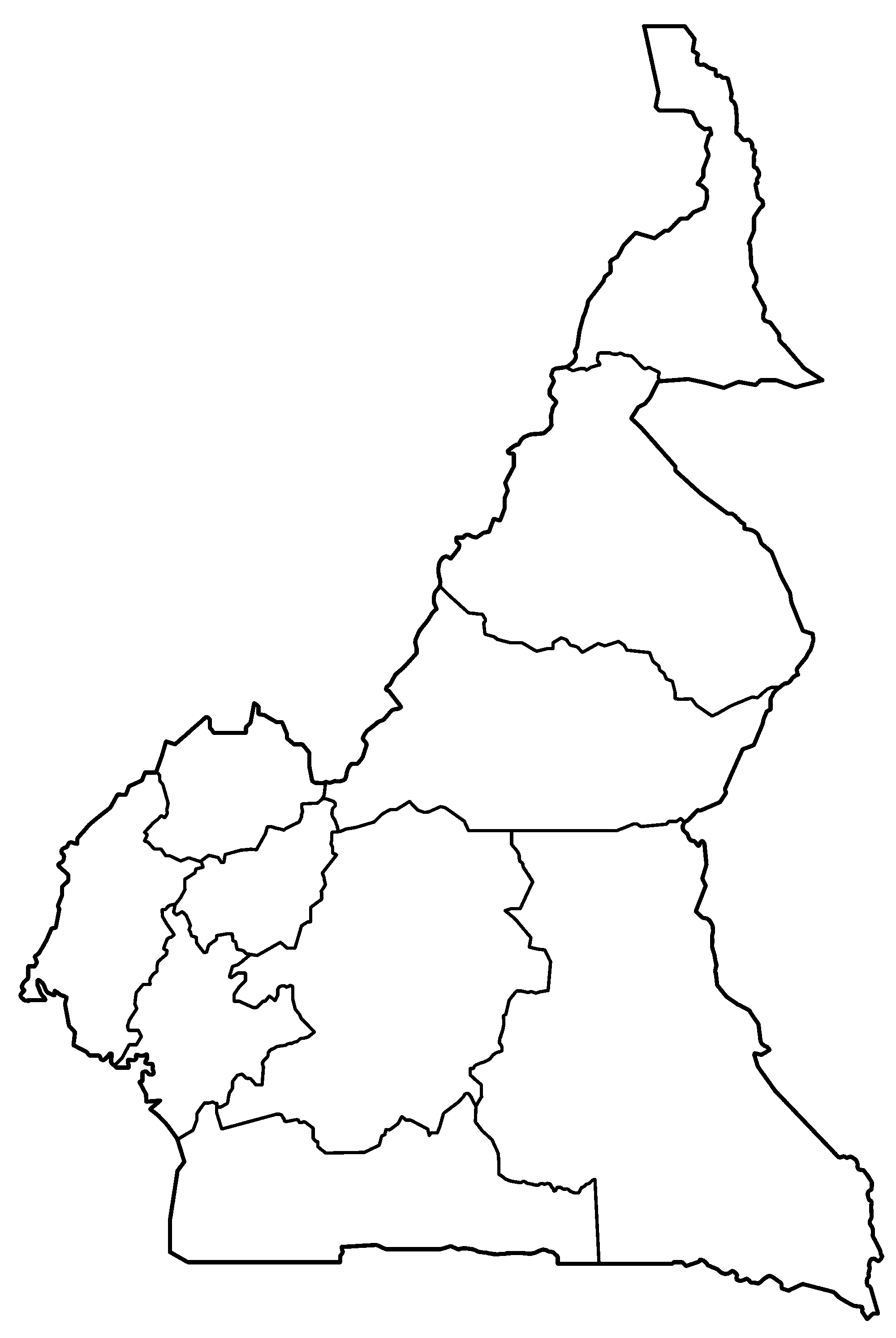 File:Cameroon provinces blank.png - Wikimedia Commons on blank map of turkey, blank map of latvia, blank map of comoros, blank map of burma, blank map of commonwealth of independent states, blank map of asia region, blank map of indian ocean islands, blank map of the czech republic, blank map of gabon, blank map of rodrigues, blank map of u.s.a, blank map of africa, blank map of sudan, blank map of philippines, blank map of us virgin islands, blank map of western sahara, blank map of tortola, blank map of eritrea, blank map of st martin, blank map of palau,