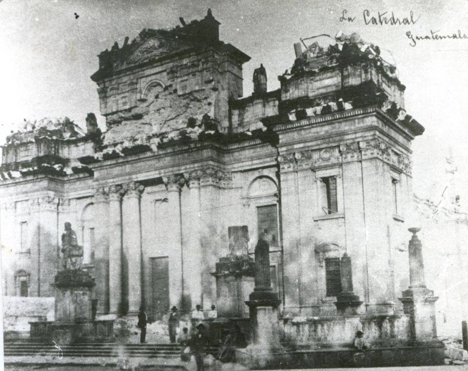 Terremoto De Guatemala De 1917 Wikipedia La Enciclopedia Libre