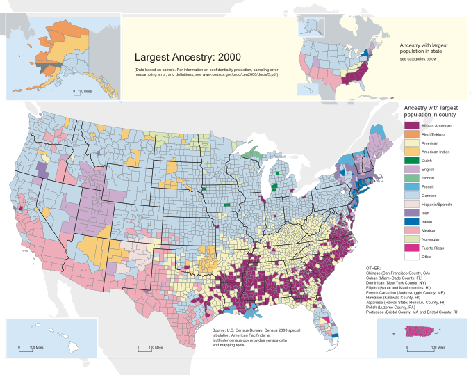 2000 Census Demographic Map