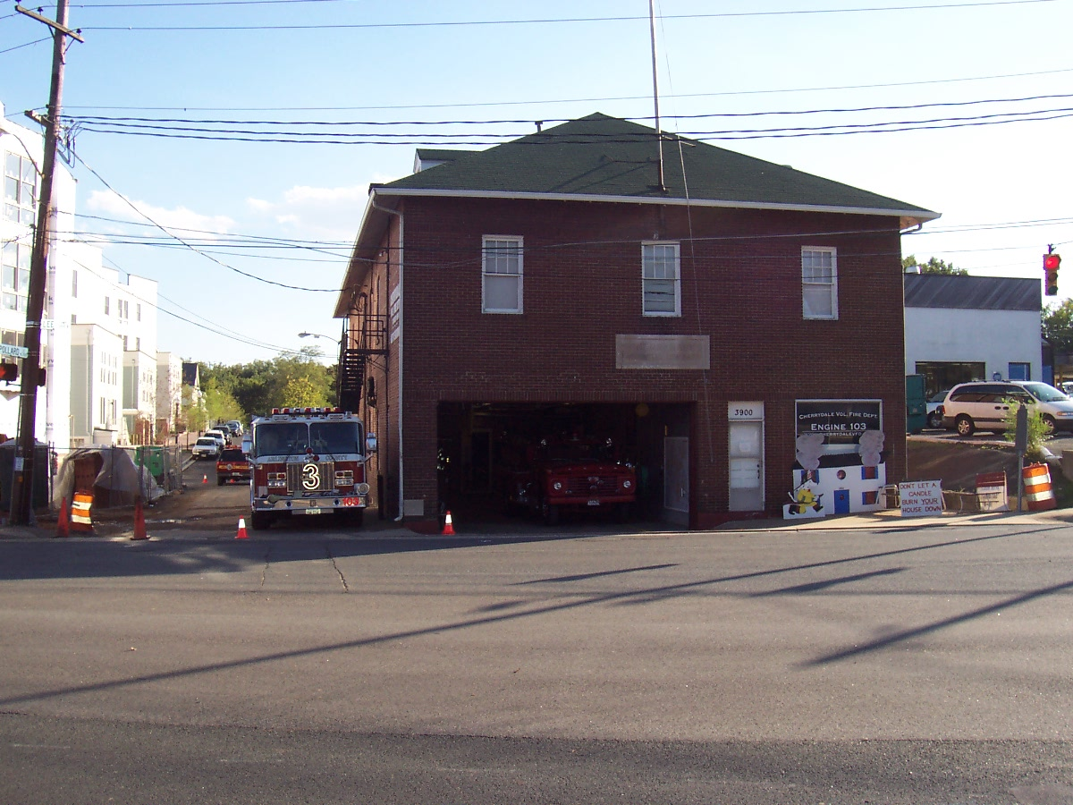 Cherrydale Volunteer Fire House Wikipedia
