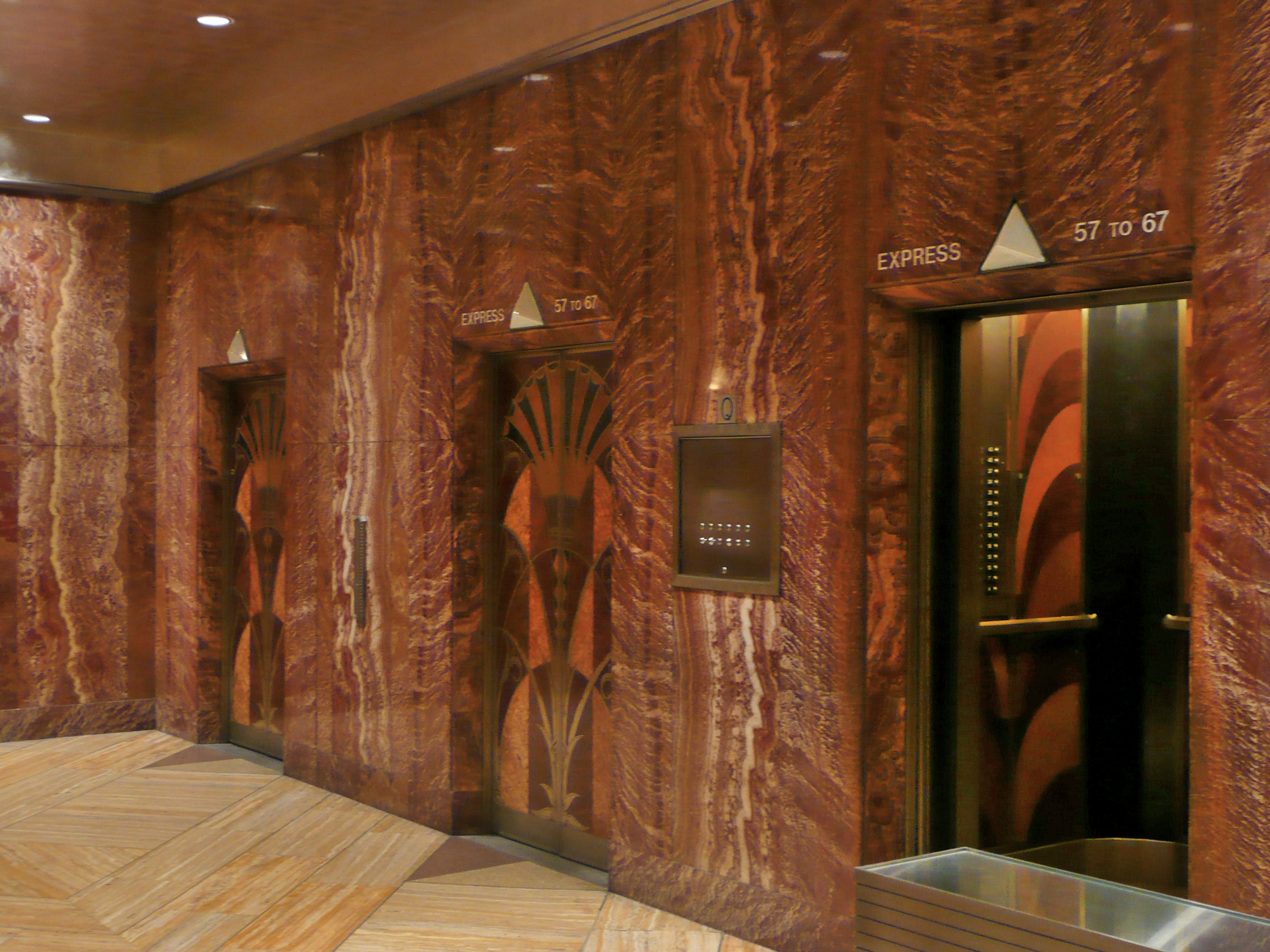 File chrysler building interior 3 jpg wikimedia commons for Interior images