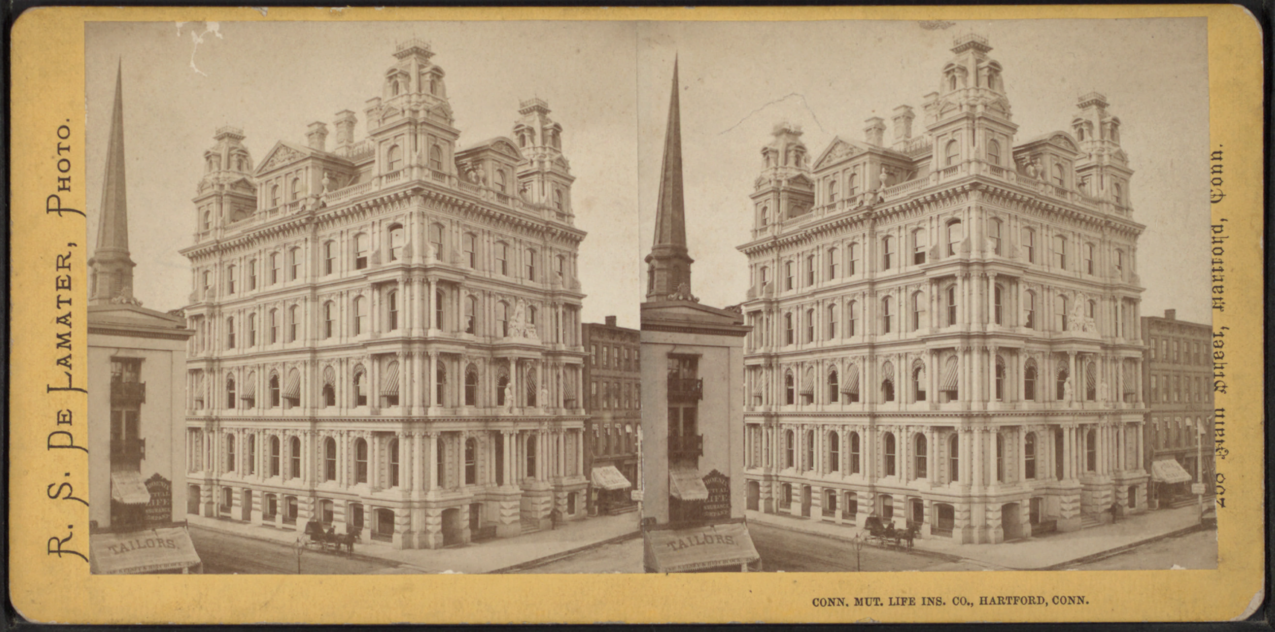 Connecticut Mutual Life File:Connecticut Mutual Life Insurance Company (building), Hartford, Conn, by