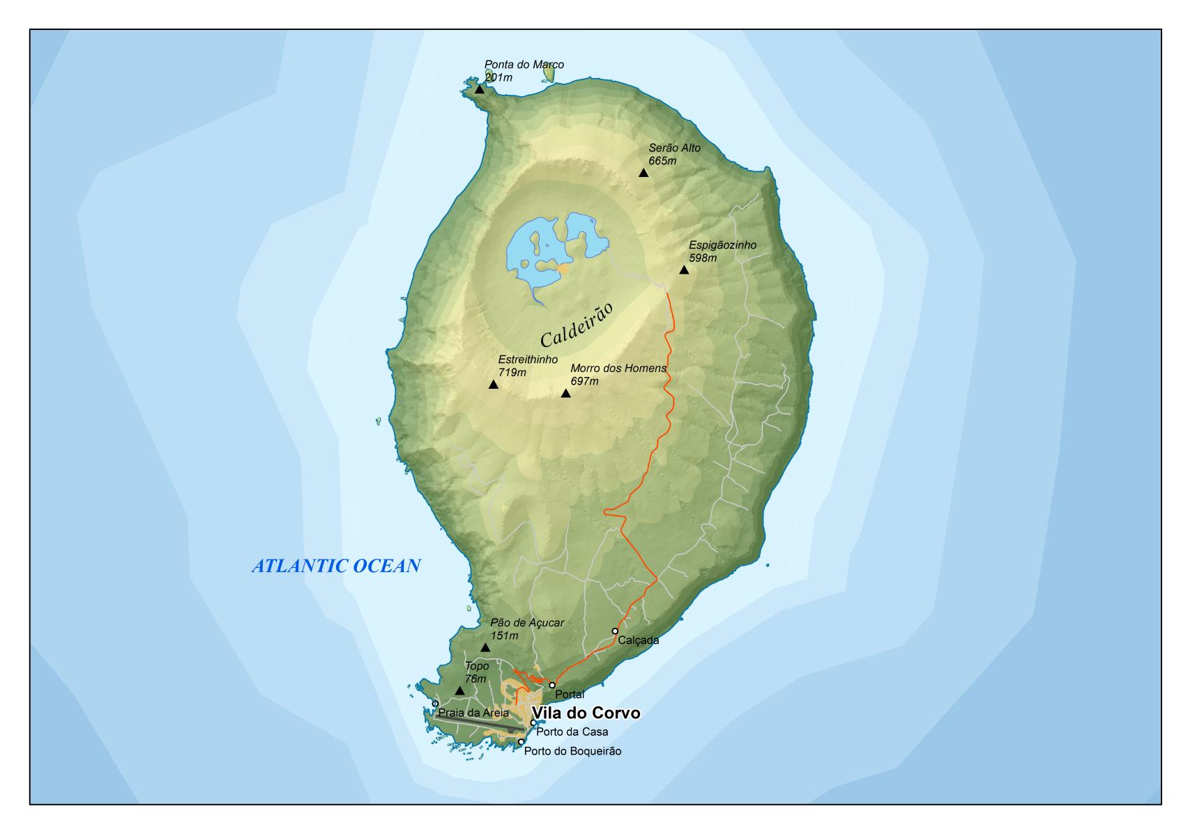 mapa corvo File:Corvo area map en.png   Wikipedia mapa corvo