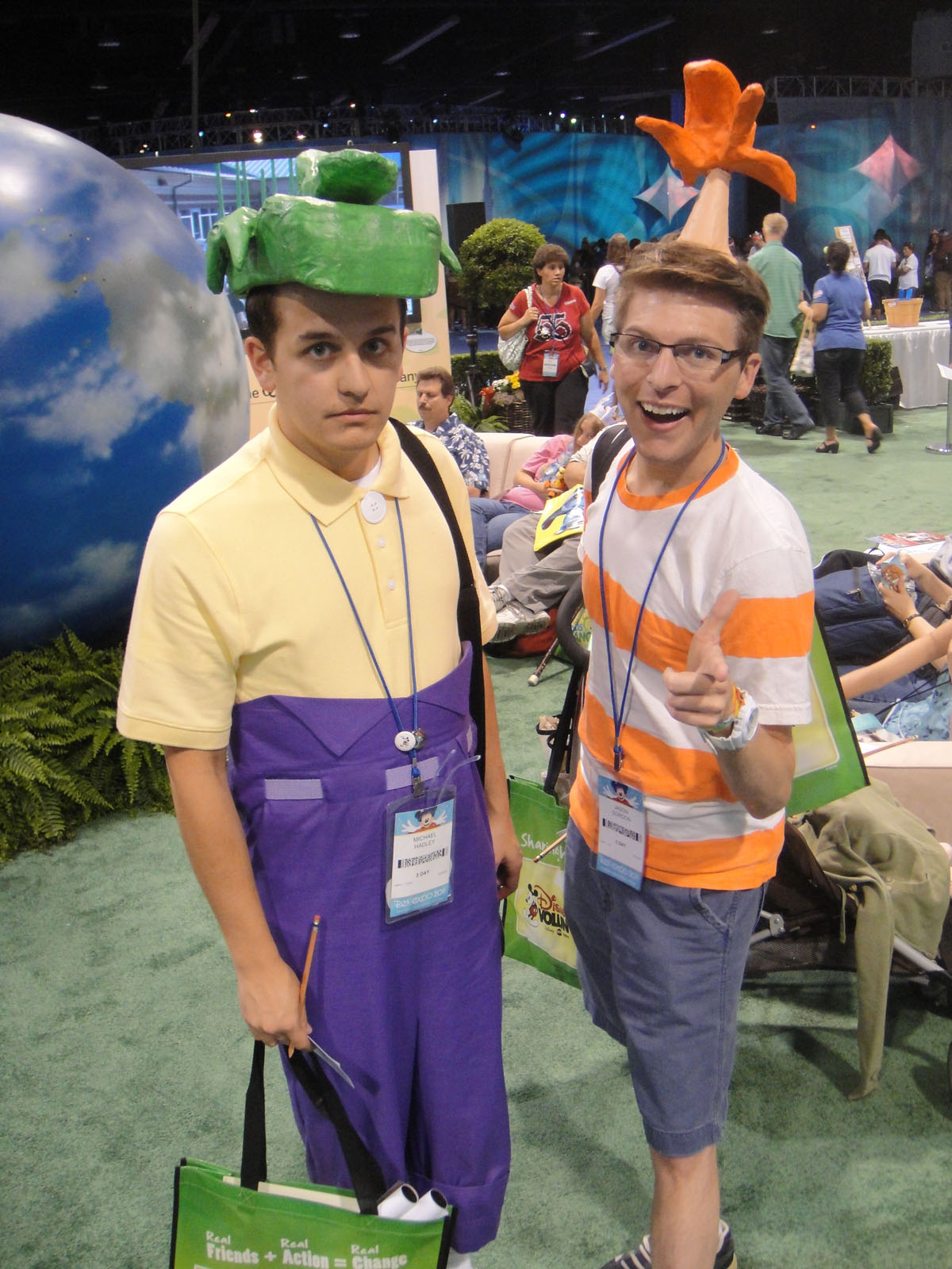 Phineas & Ferb--Homemade Costume