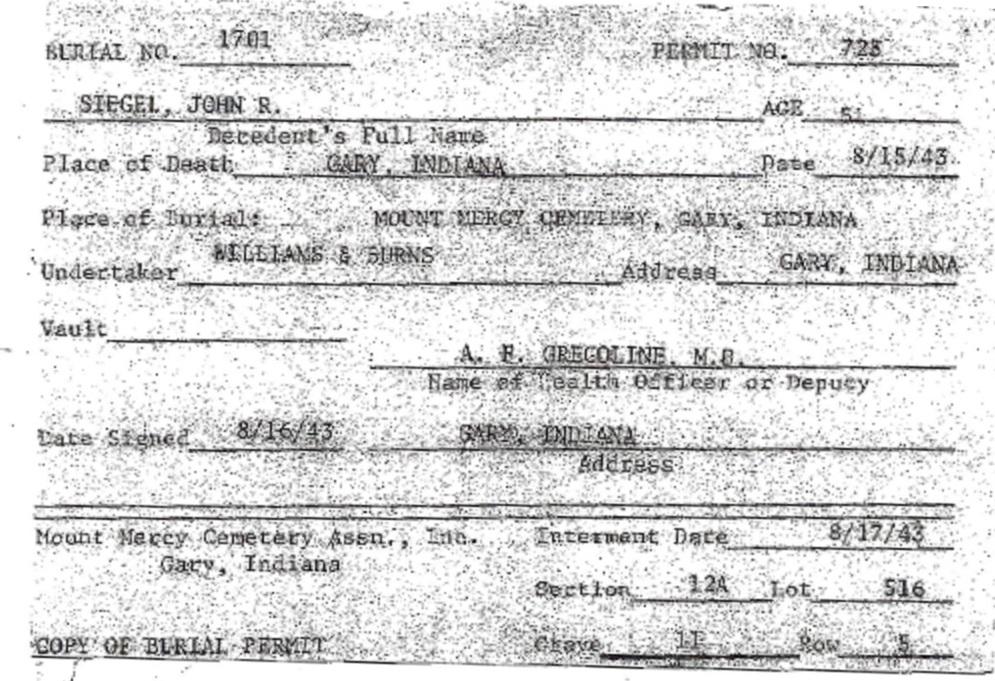 Fantastic Indiana Death Certificate Illustration Online Birth