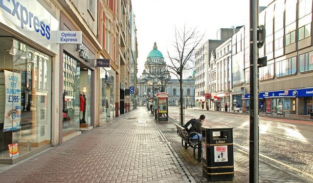 File Donegall Place Belfast 2 Geograph Org Uk