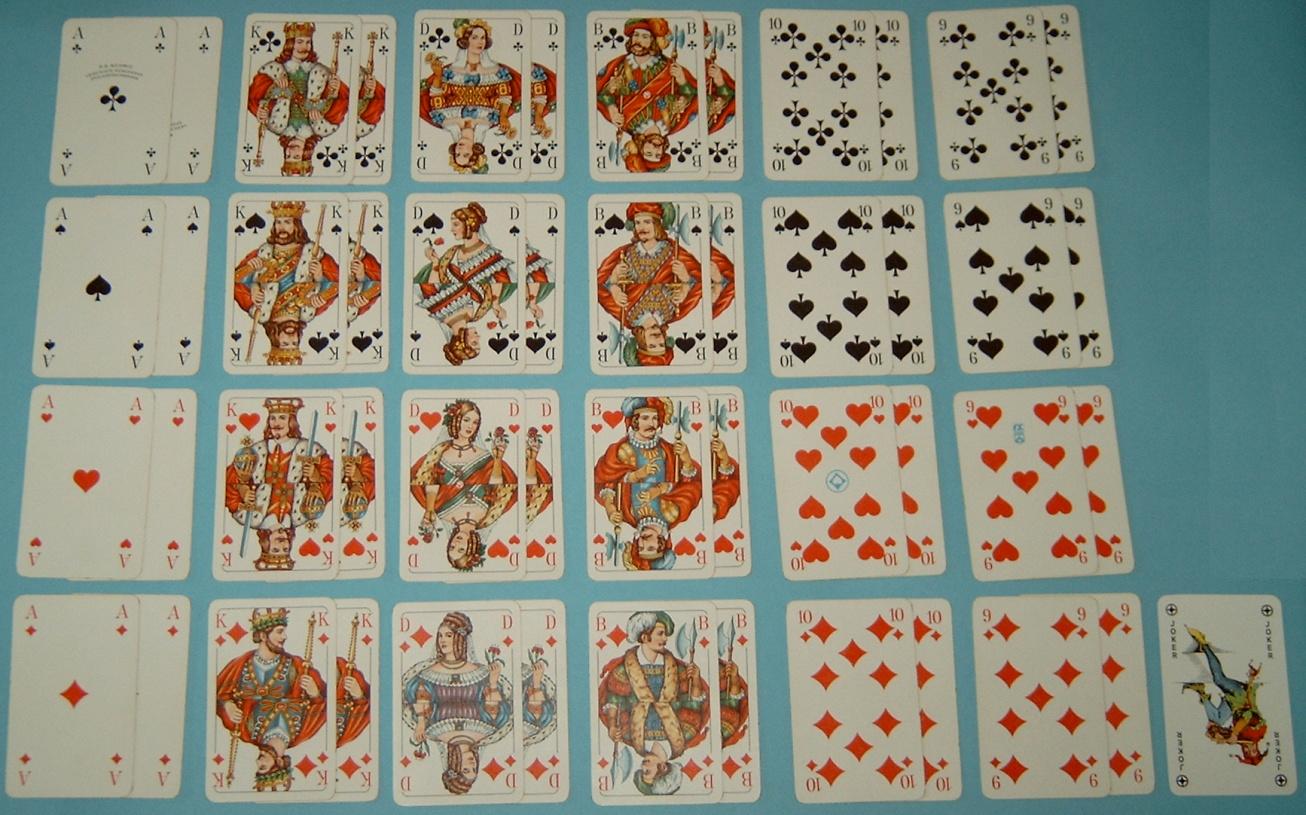 Doppelkopf Karten