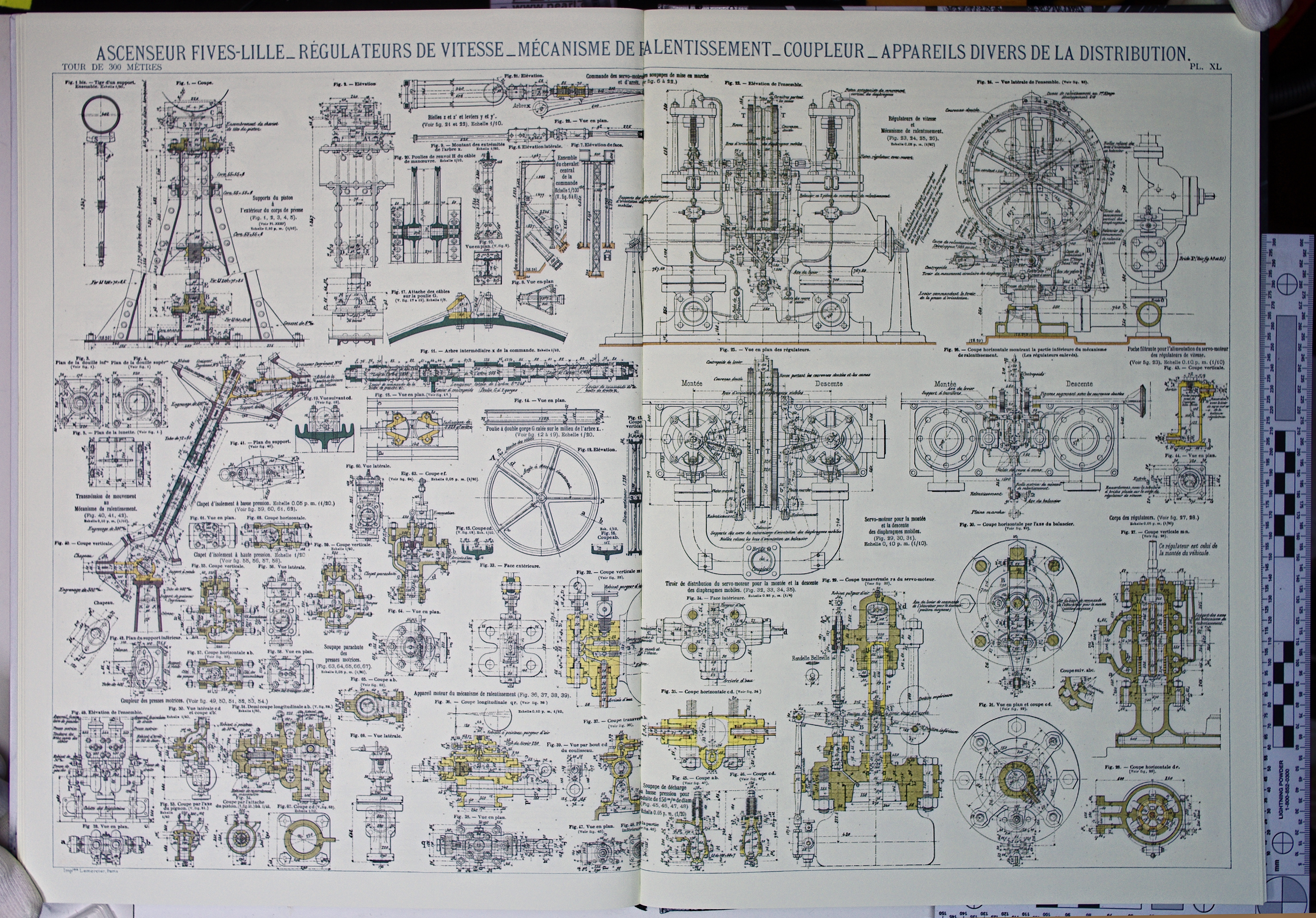 File Eiffel Tower Plans 46 Jpg Wikimedia Commons