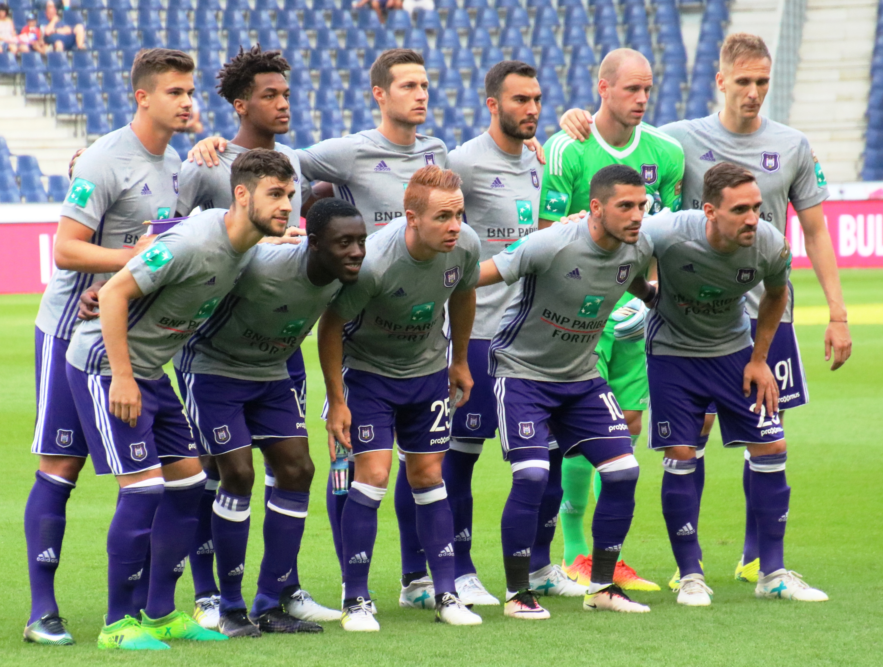 Fc Red Bull Salzburg Gegen Rsc Anderlecht Testspiel
