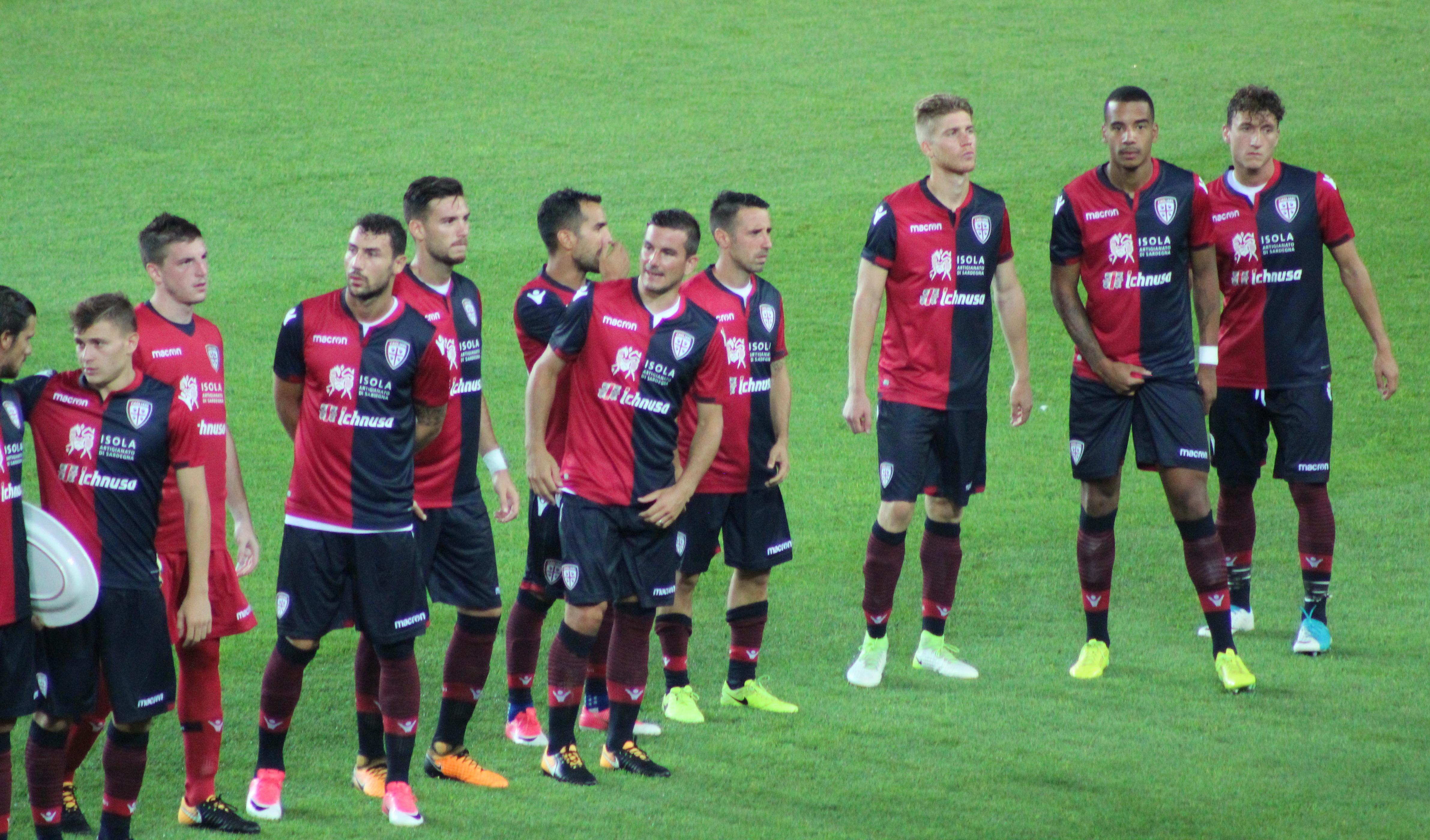 Calendario Cagliari Calcio 2020.Cagliari Calcio 2017 2018 Wikipedia