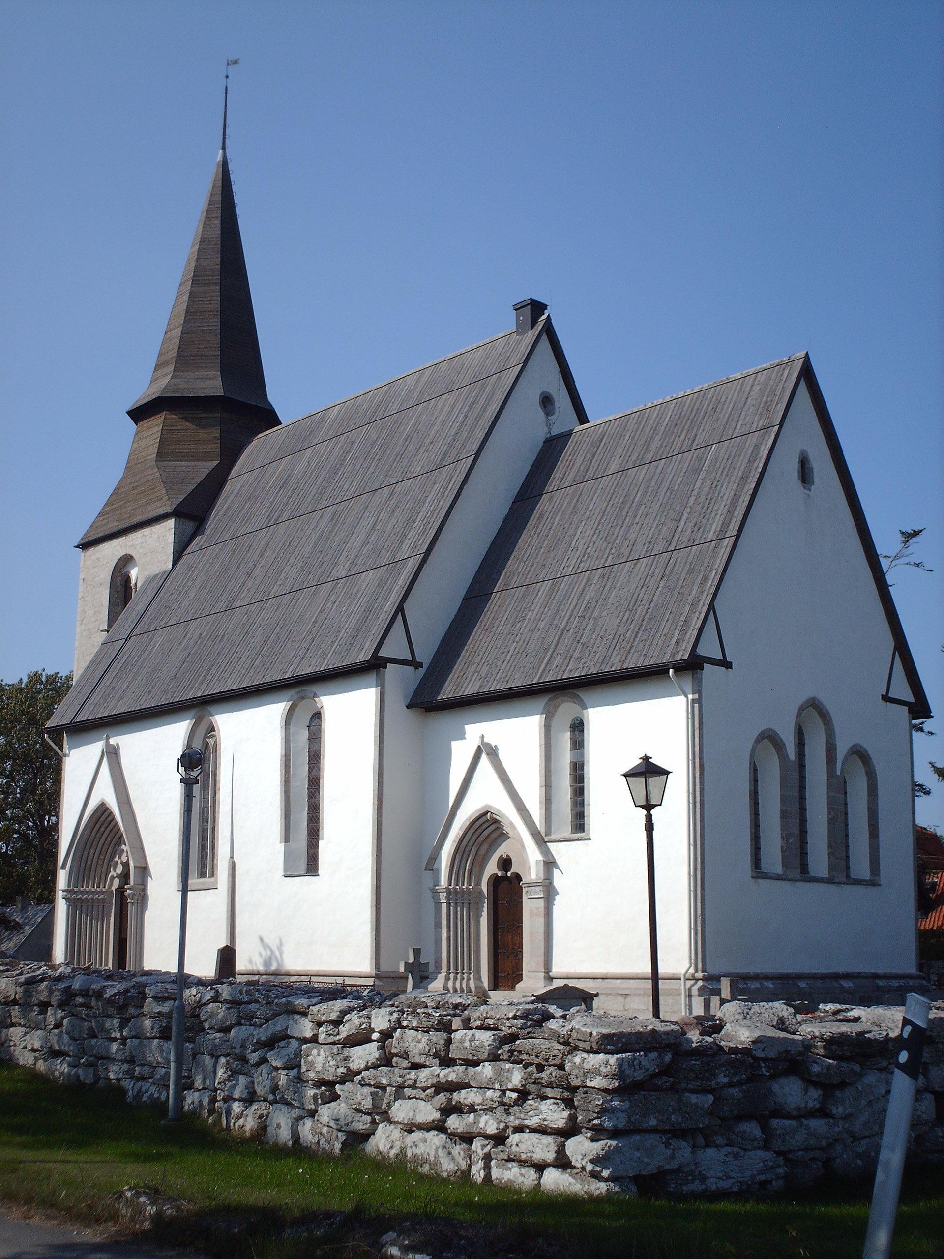 Bild av Fole kyrka