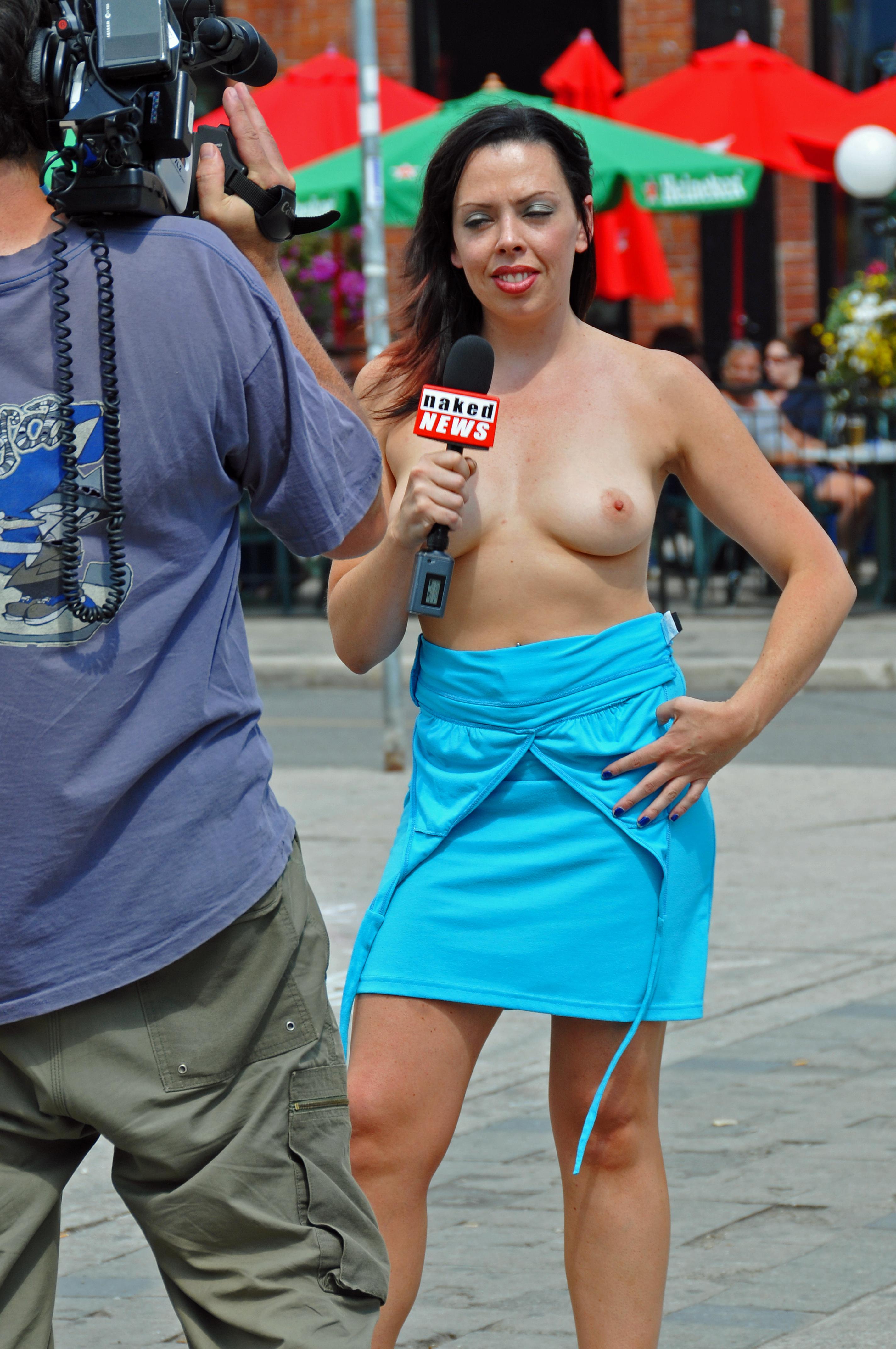 News nude Naked News