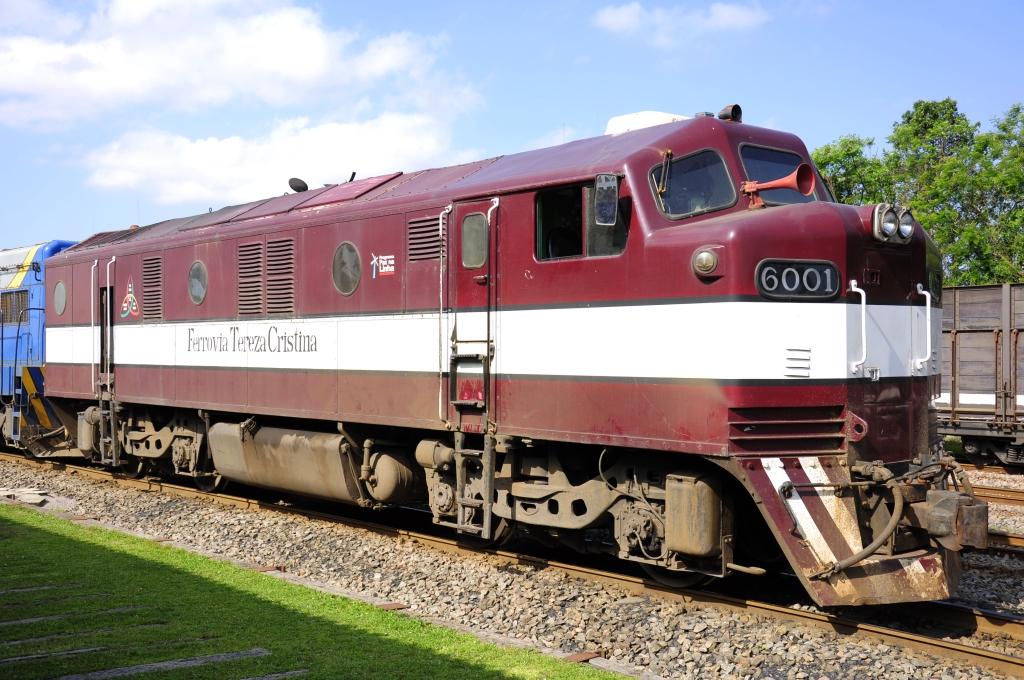 File General Motors Diesel Electric Locomotive B12 Ftc