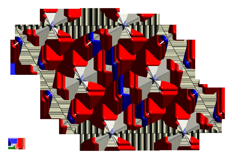 Hexaaquacobalt(II)-nitrate-xtal-1973-unit-cell-CM-3D-balls.png