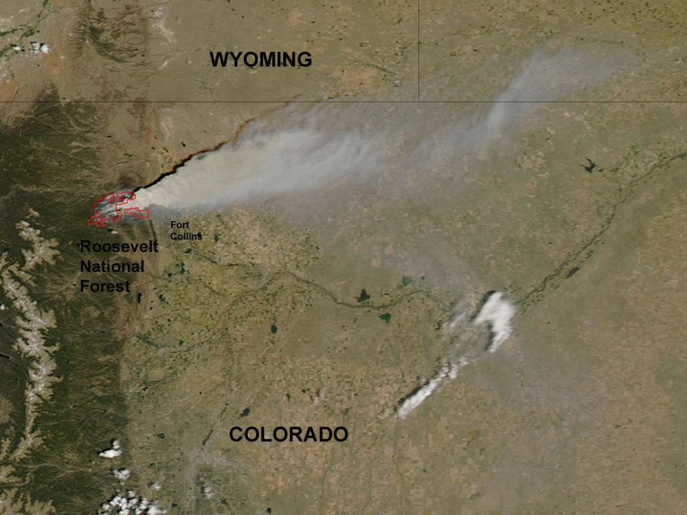 High Park Fire Map.High Park Fire Wikipedia