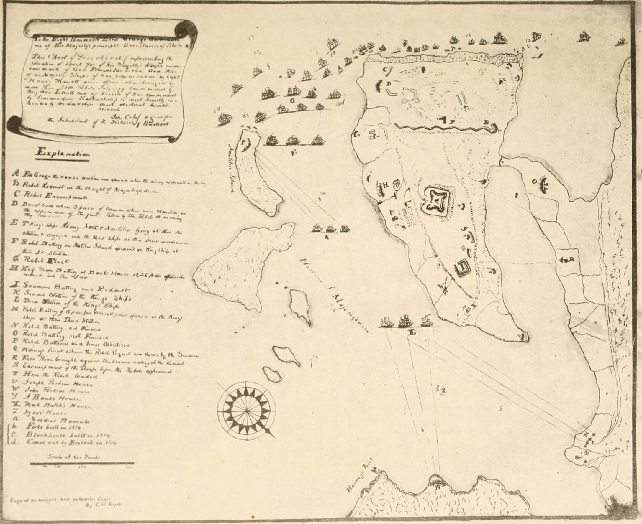 File History Of Castine Penobscot And Brooksville Maine