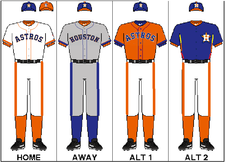 Astros Team Colors
