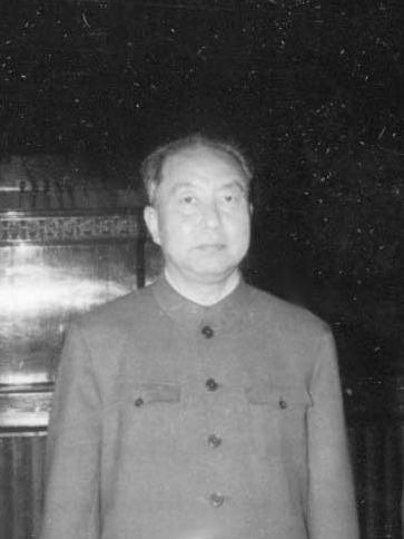 Image of Mao's successor Hua Guofeng during a state visit in Romania