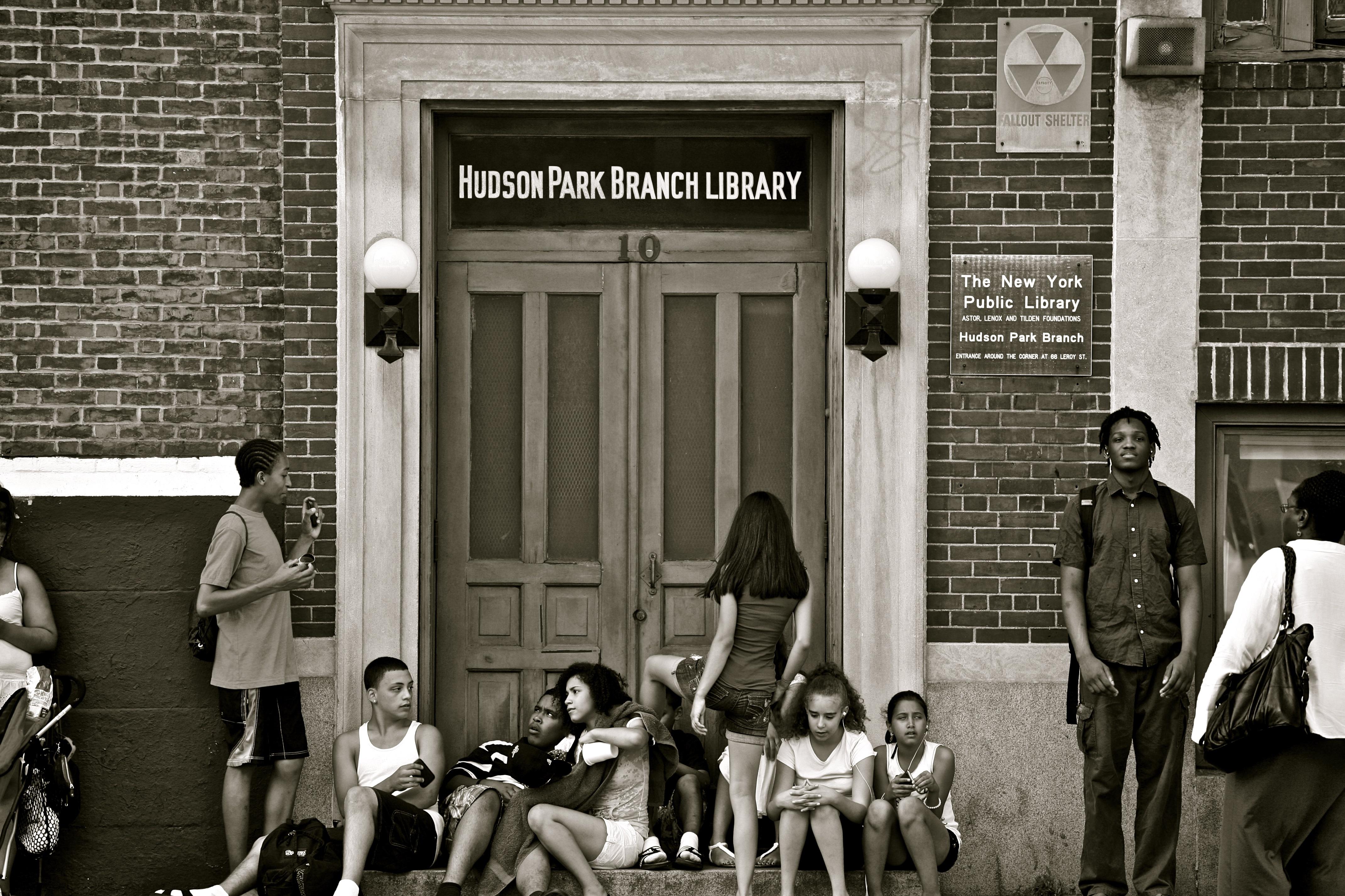 Hudson park library