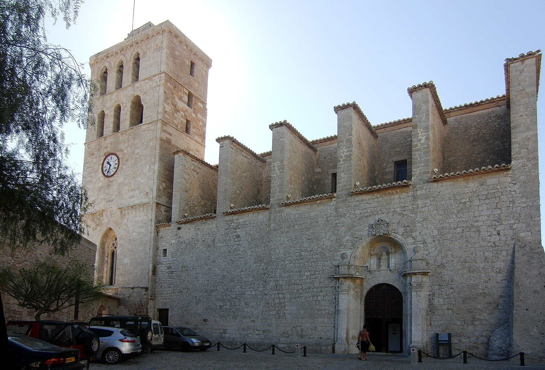 Ibiza Cathedral is one of the attractions in Ibiza