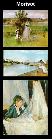 Paintings by Berthe Morisot
