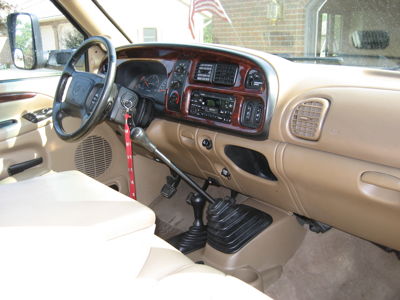 Interior on 99 Dodge Ram Dash Frame