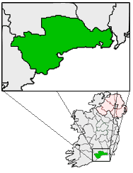 File:Ireland map County Waterford Magnified.png