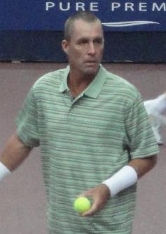 Français : Ivan Lendl lors du Trophée Lagardèr...