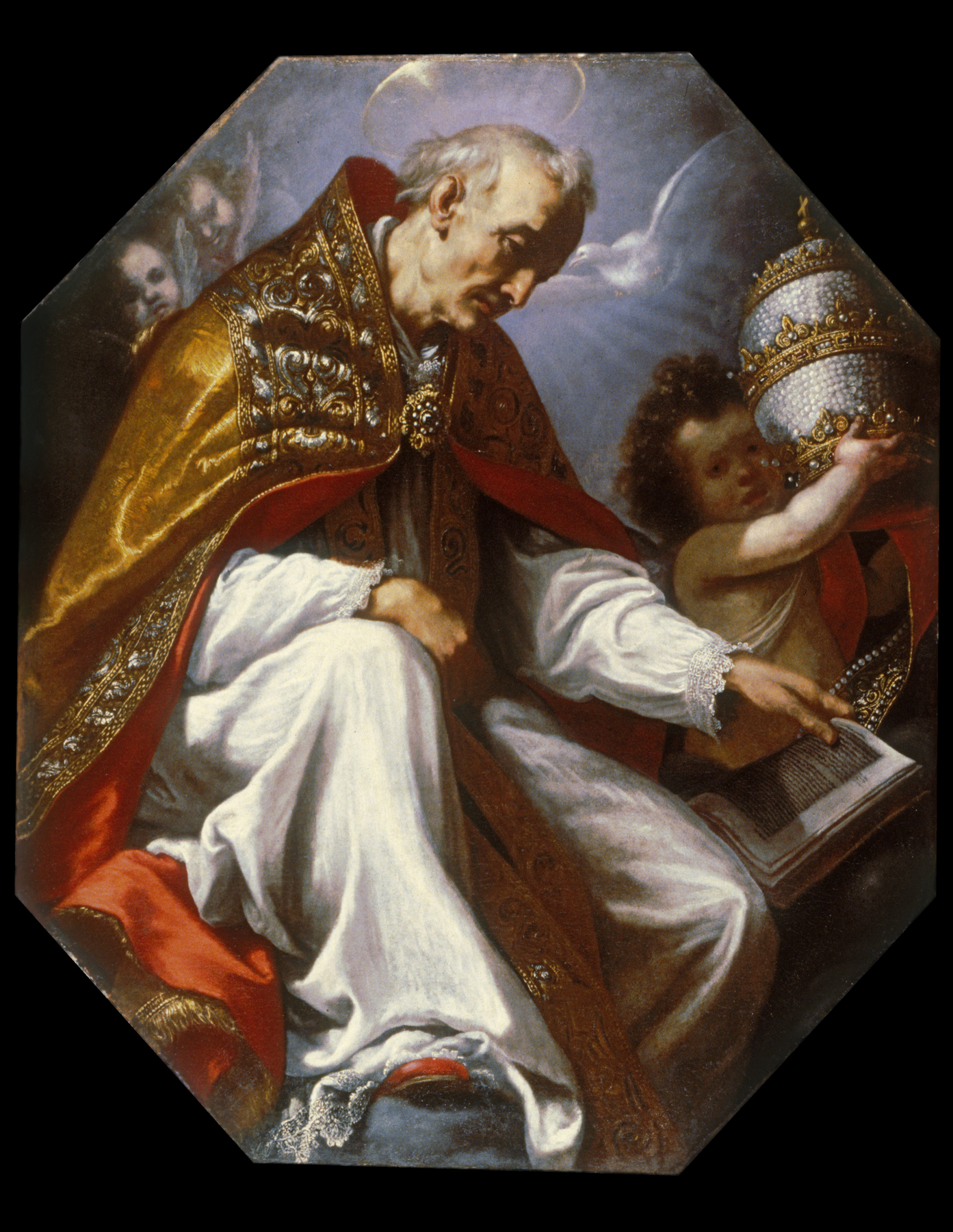 File:Jacopo Vignali - Saint Gregory the Great - Walters ...
