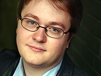 Promotional photograph of Johann Hari