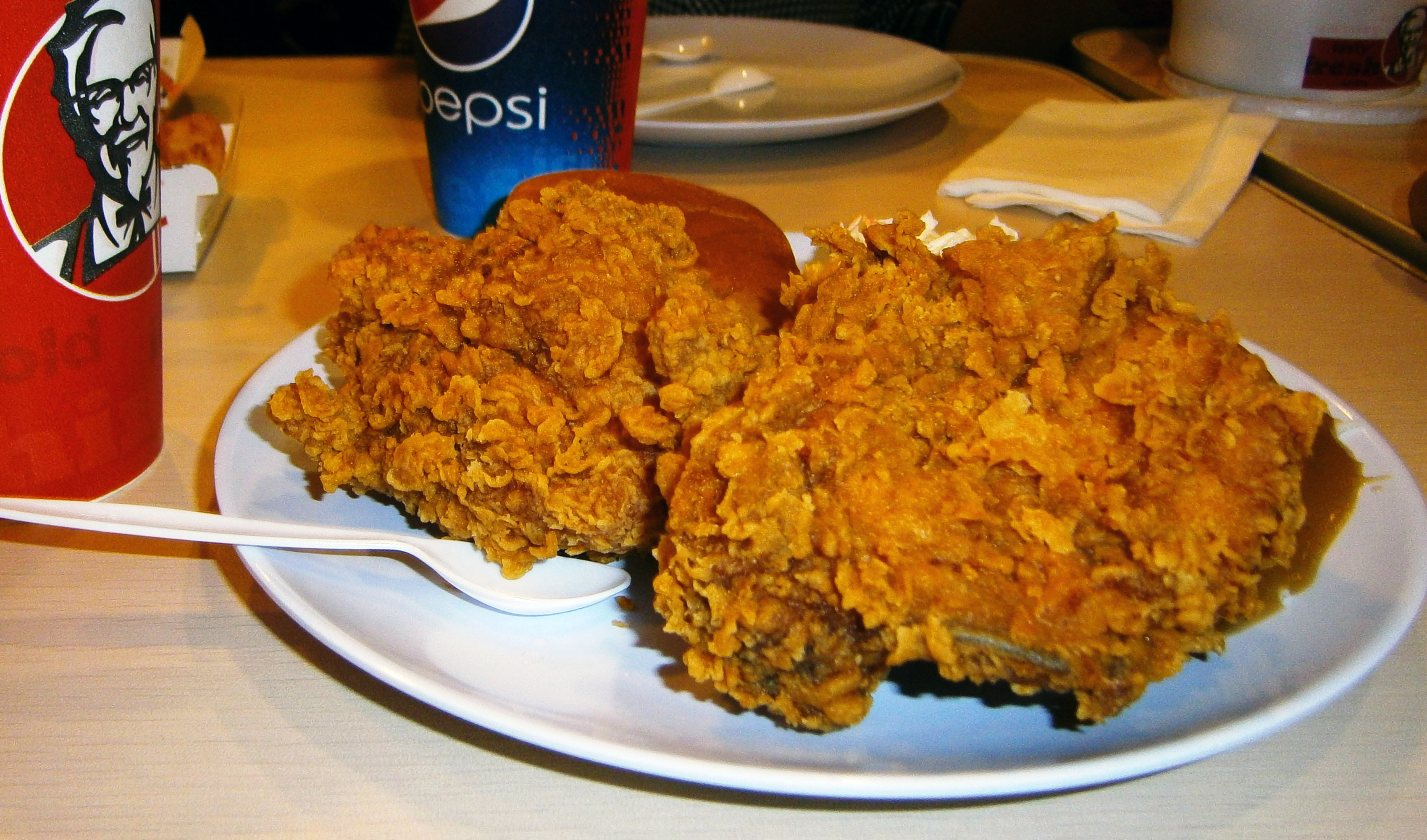 Kfc Hot Wings Images & Pictures - Becuo