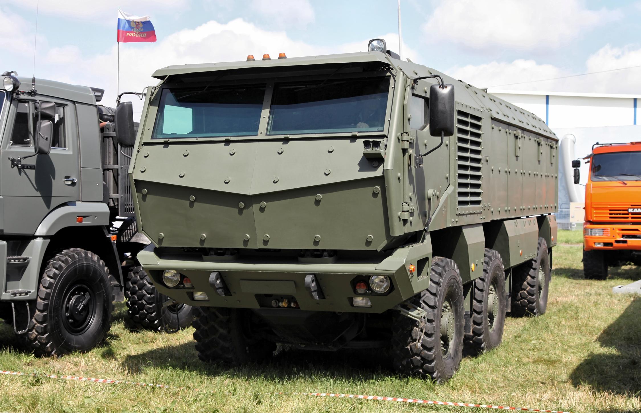 всего военные грузовики россии фото там как