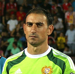 Gevorg Kasparov Armenian footballer
