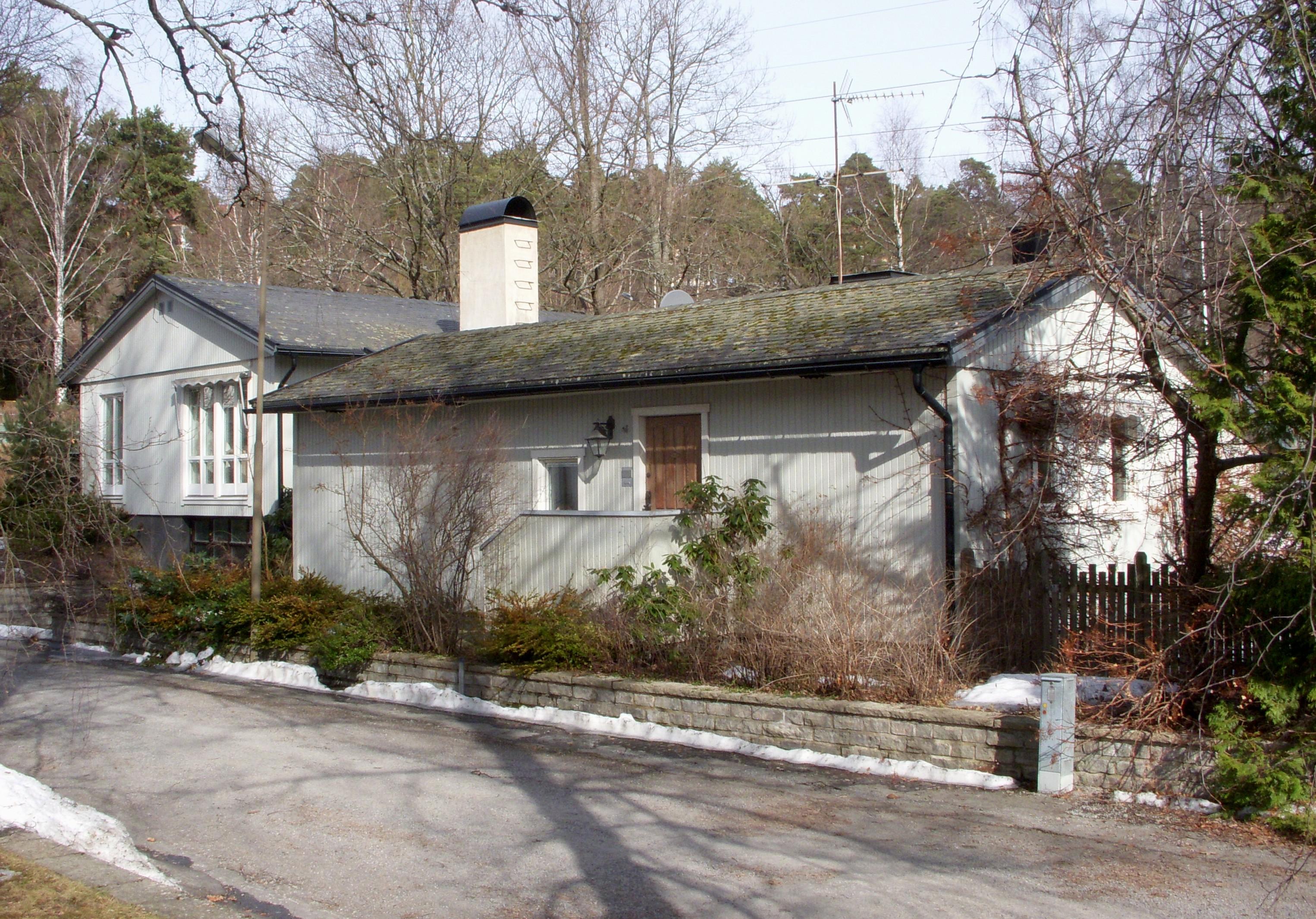 Villa Markelius, Danderyd - Wikiwand
