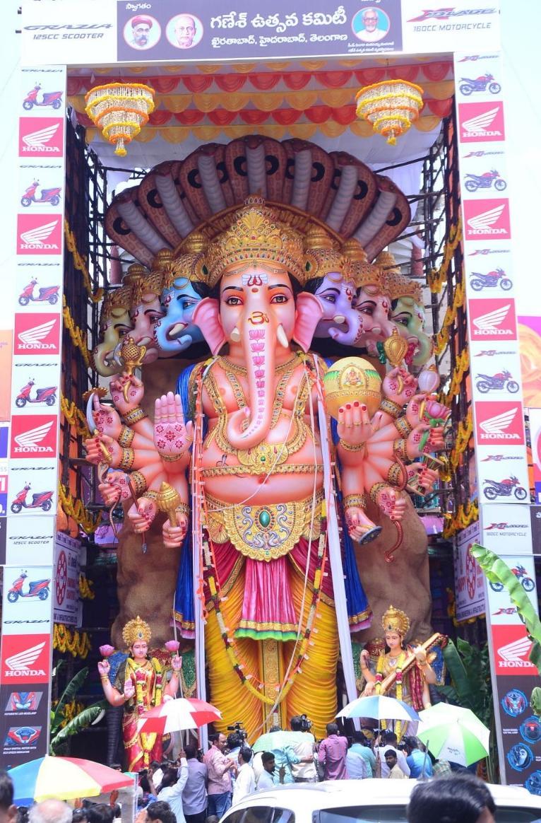 Khairtabad Ganesh - Wikipedia